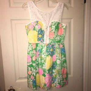 NWT Lilly Pulitzer Raegan Dress Hibiscus Stroll 2